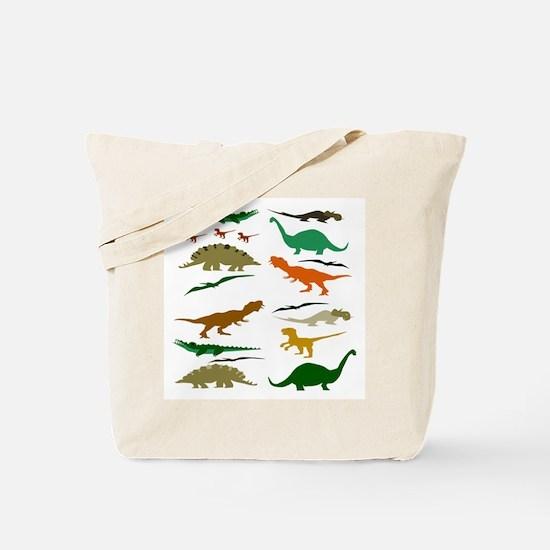 Dinosauria Tote Bag