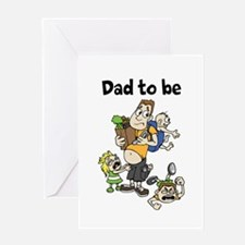 Funny Dad To Be Greeting Cards | Parenting Humor