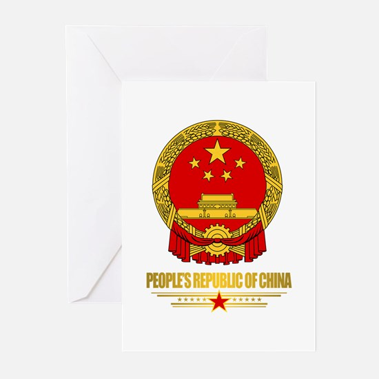 China COA Greeting Cards