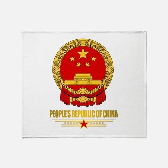 China COA Throw Blanket