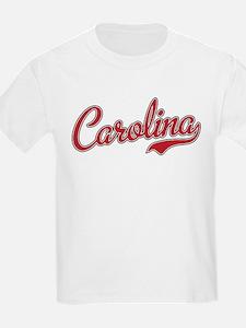 South Carolina Script Font T-Shirt