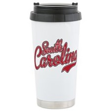 USC South Carolina Script Travel Mug