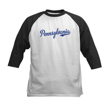 Pennsylvania Script Font Baseball Jersey