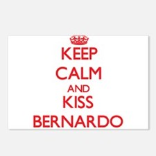 Keep Calm and Kiss Bernardo Postcards (Package of