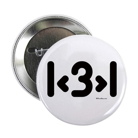 """I love more than one (cute) 2.25"""" Button (10 pack)"""