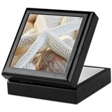 Star fish Square Keepsake Boxes