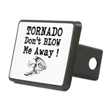 Tornado Dont Blow Me Away Hitch Cover