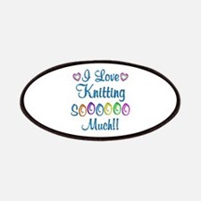 Knitting Love So Much Patches