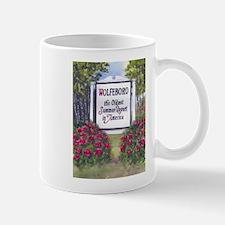 Wolfeboro NH Sign Mug
