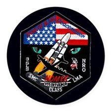 NROL-19 Launch Team Round Car Magnet