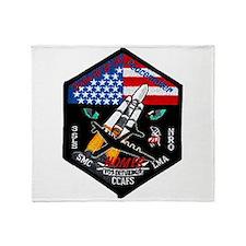 NROL-19 Launch Team Throw Blanket