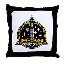 NROL-20 Launch Team Throw Pillow