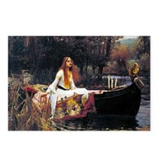 Waterhouse Lady Of Shalot Postcards (Package of 8)