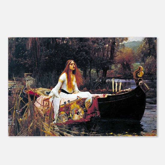 Waterhouse Lady Of Shalott Postcards (Package of 8