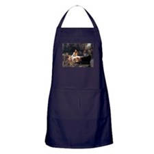 Waterhouse Lady Of Shalott Apron (dark)