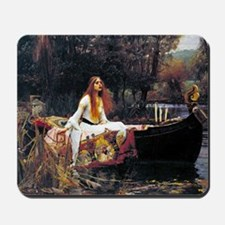 Waterhouse Lady Of Shalott Mousepad