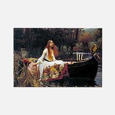Waterhouse Lady Of Shalott Magnets