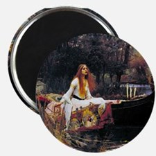 Waterhouse Lady Of Shalott Magnets