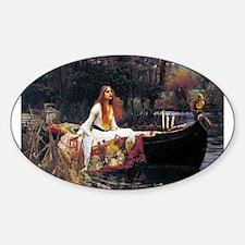 Waterhouse Lady Of Shalott Decal