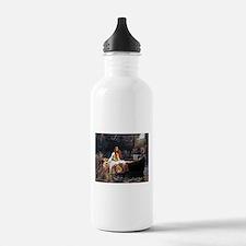 Waterhouse Lady Of Shalott Water Bottle