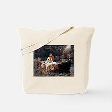 Waterhouse Lady Of Shalott Tote Bag