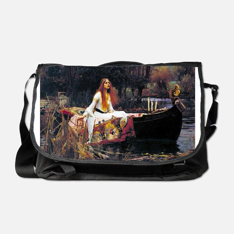 Waterhouse Lady Of Shalott Messenger Bag