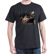 Waterhouse Lady Of Shalott T-Shirt