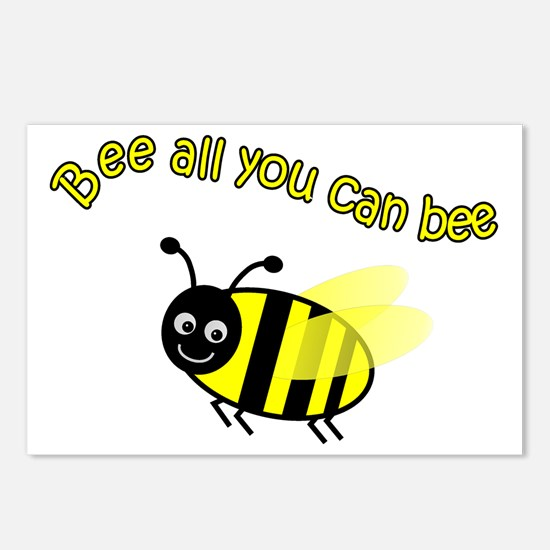 Bee All That You Can Bee Postcards (Package of 8)