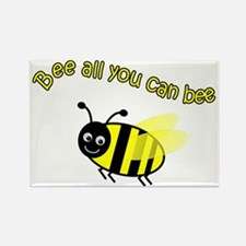 Bee All That You Can Bee Rectangle Magnet (10 pack