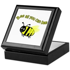 Bee All That You Can Bee Keepsake Box