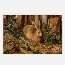 Hare In The Forest Postcards (Package of 8)