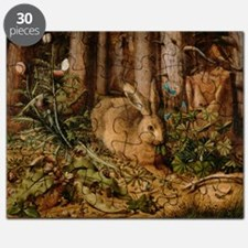 Hare In The Forest Puzzle