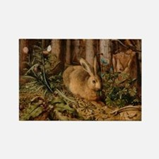 Hare In The Forest Magnets