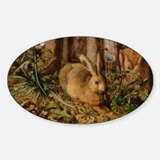 Hare In The Forest Decal