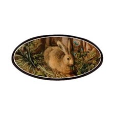 Hare In The Forest Patches