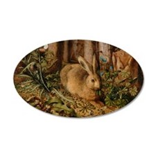 Hare In The Forest Wall Decal