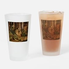 Hare In The Forest Drinking Glass