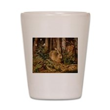 Hare In The Forest Shot Glass