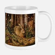 Hare In The Forest Mugs