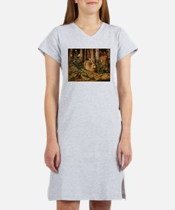 Hare In The Forest Women's Nightshirt