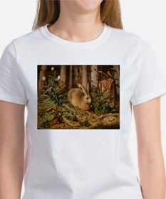 Hare In The Forest T-Shirt