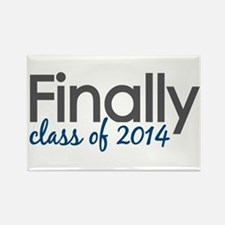 Finally Class of 2014 Rectangle Magnet (100 pack)