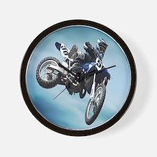 Dirt Bike Jump Wall Clock