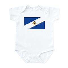 Madison Flag Infant Bodysuit