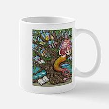 Reading Mermaid Mugs