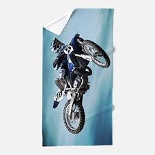 Dirt Bike Jump Beach Towel