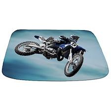 Dirt Bike Jump Bathmat