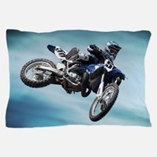 Dirt Bike Jump Pillow Case
