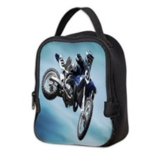Dirt Bike Jump Neoprene Lunch Bag