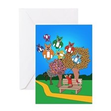 Balloon Bliss Greeting Card